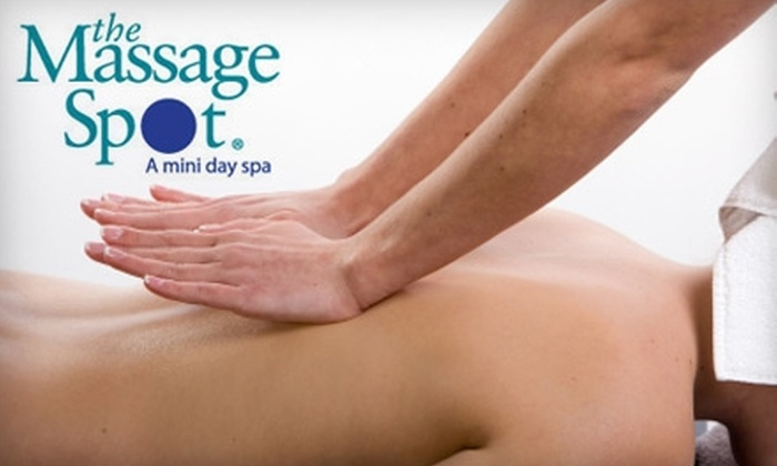 The Massage Spot - Multiple Locations: $39 for a 90-Minute Deluxe Massage at The Massage Spot (Up to $81 Value)