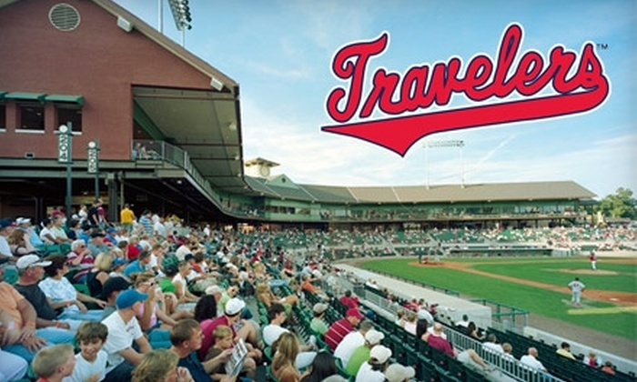 Arkansas Travelers - North Little Rock: $10 for Two Reserved Seats, Two Hot Dogs, and a Personalized Scoreboard Message at an Arkansas Travelers Baseball Game ($21 Value). Choose from Six Different Games.
