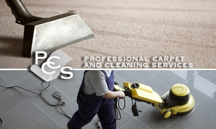 Professional Carpet and Cleaning Services - Sioux Falls: $48 for $96 Worth of Eco-Friendly Carpet, Tile, and Grout Cleaning from Professional Carpet and Cleaning Services