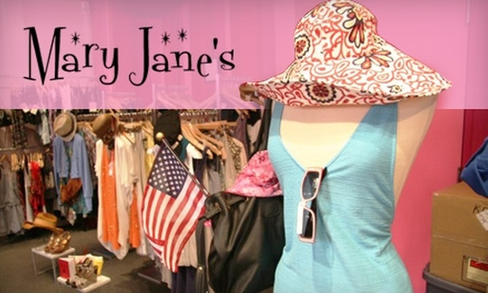 Mary Jane's - Central West End: $30 for $75 Worth of Boutique Apparel, Shoes, Accessories, and More from Mary Jane's