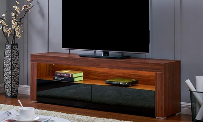 Geneva LED Light TV Cabinet