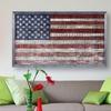 Framed or Unframed Rustic-Flag Giclee Print
