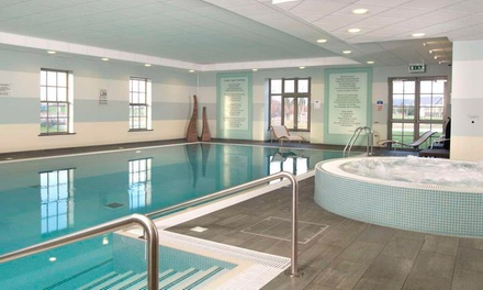 Spa Experience with Danish Pastry, Drink and Towel Hire for Two at Cambridge Belfry DoubleTree by Hilton