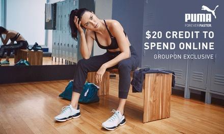 $20 to Spend in Puma Online (No Min Spend)