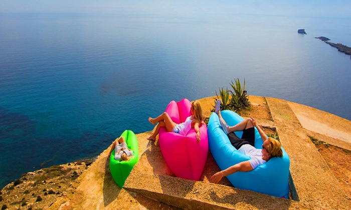 Image result for inflatable air lounger