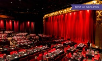 Music Hall Live Entertainment with Three-Course Dinner, Drinks and Private Seating on The Palm Jumeirah (Up to 28% Off)