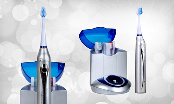 Pursonic S450 Deluxe Sonic Toothbrush: $59 for a Pursonic Deluxe Sonic Toothbrush with 12 Brush Heads and UV Sanitizing Function ($129.99 List Price). Free Shipping.