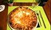 Lungomare di Tirrenia: menu pizza