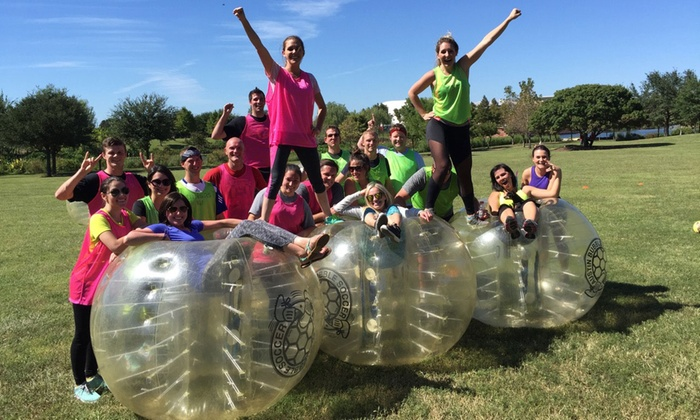 Austin Bubble Soccer - Austin: Bubble Soccer at Austin Bubble Soccer (Up to 50% Off). Five Options Available.