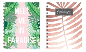 """Large 9""""x11"""" Open-Dated Weekly Planners"""
