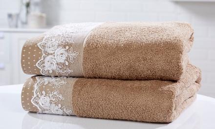 Rapport Home Lace Bath Sheets