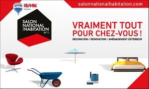 Salon national de l'habitation: Entrée pour deux adultes ou une famille au Salon national de l'habitation de Montréal 2017