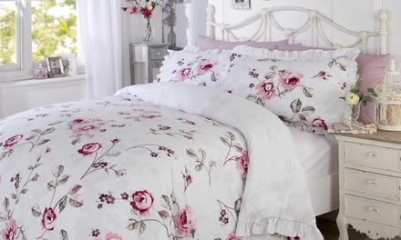 Frilled Edge Duvet Sets in Choice of Design and Size