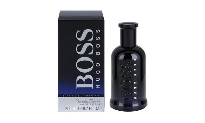 Up To 44 Off On Hugo Boss Mens Eau De Toilette Groupon Goods