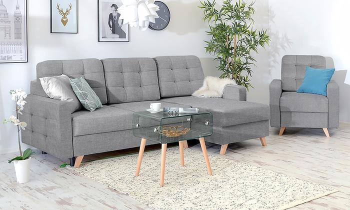 Nice Groupon Goods Global GmbH: Selsey Living Sessel, Sofa Oder Ecksofa Velvet  In Grau ... Nice Design