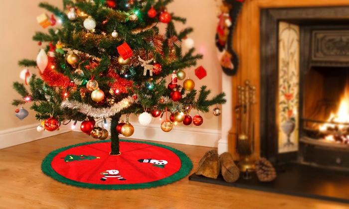 Christmas Tree Skirt Decoration | Groupon Goods
