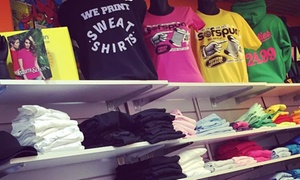 Pretty Cool Printing: £20 to Spend on Printed Garments or Products at Pretty Cool Printing (50% Off)