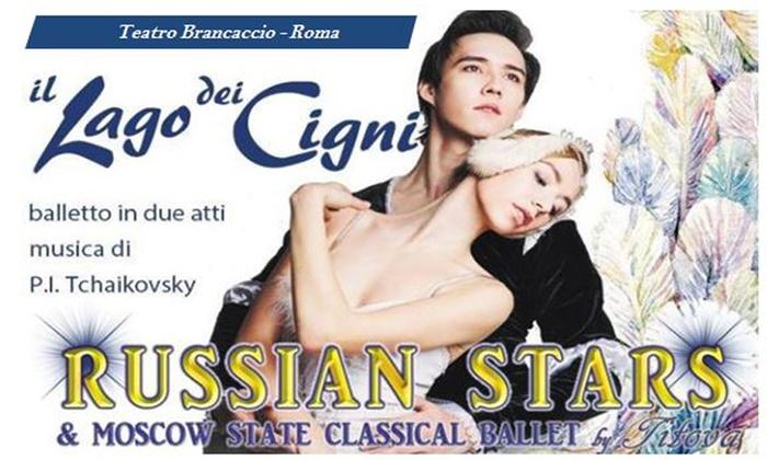 Russian Stars ne Il Lago dei Cigni - Il 16 e il 17 gennaio al Teatro Brancaccio di Roma (sconto fino a 26%)