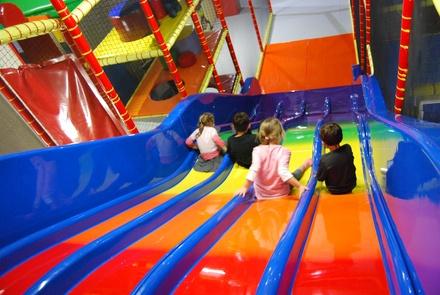 Une entrée pour la journée pour 1, 2 ou 3 enfants au choix avec 1 menu enfanten option dès 7 € au parc Circus Party