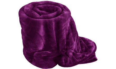 Ultra Soft Faux Mink Throws from £10