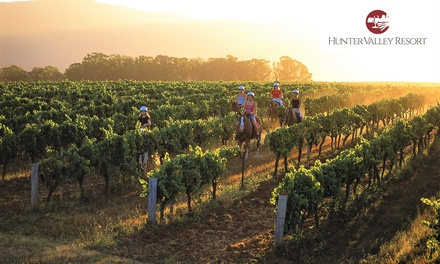 Hunter Valley: 1-2 Nights for Two with Wine Tasting, Vineyard Tour and Option for Train Transfer at Hunter Valley Resort