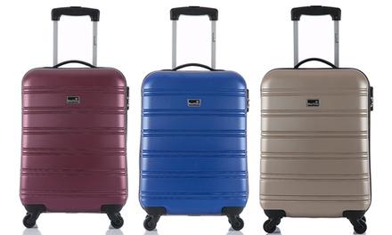 BlueStar Bilbao ABS Wheeled Cabin Suitcase