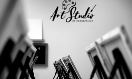 Painting Experience atArt Studio of Connecticut (Up to 54% Off).