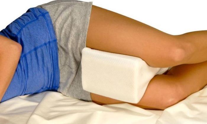 48 Off Memory Foam Contour Leg Pillow Groupon