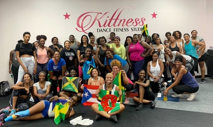 Three or Six Dance Fitness SOCA and Afro Caribbean Classes at Kittness Dance Fitness Studio (Up to 49% Off)
