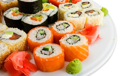 Sushi and Other Japanese Food at Maru Sushi & Grill (Up to 50% Off). Two Options Available.