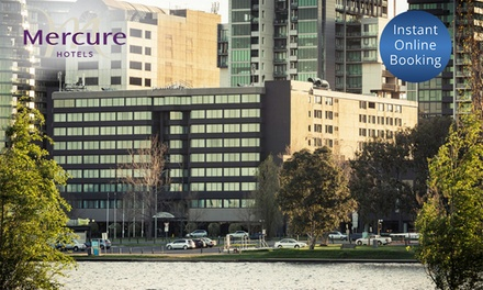 Melbourne: 1 or 2 Nights for Two or Four with Late Check Out and Optional Breakfast at Mercure Melbourne Albert Park