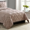 Jacklyn Pintuck Cotton Blend Quilt Set (2- or 3-Piece)