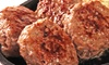 [1個あたり124円|送料無料]|明和食品|無添加 プチ牛生ハンバーグ(40g×24個セット)