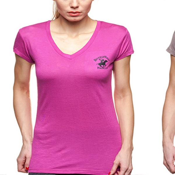 e49777c0a2ca BHPC Women's V-Neck T-Shirts   Groupon Goods