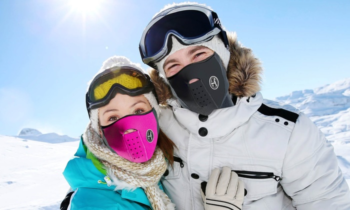 One-Piece Neck Warmer and Ski Mask (7 Colors)