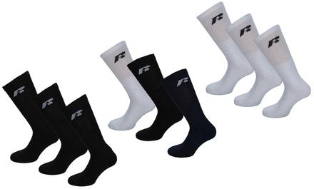 Six or TwelvePack of Russell Athletic Men's Sports Socks