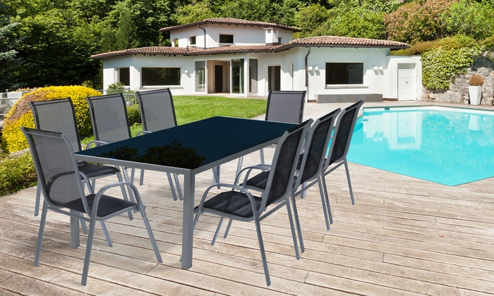 Ensemble table et chaises Rio | Groupon
