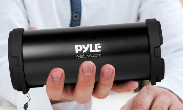 Save 63% on Pyle Portable Bluetooth Wireless Boombox Stereo System