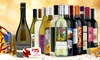 Heartwood & Oak: 12 Bottles of Premium Wine Plus Sparkling Wine, Two govino Flutes, and a $75 e-Voucher from Heartwood & Oak