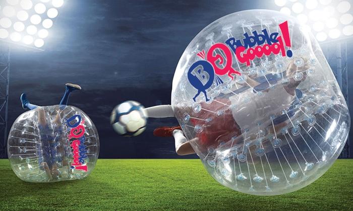 The Factory - Bubble Gooool ! - Talence: 30 min ou 1h de Bubble Foot pour 10 joueurs enfants ou adultes dès 69,90 € chez The Factory - Bubble Gooool !