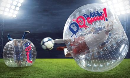 30 min ou 1h de Bubble Foot pour 10 joueurs enfants ou adultes dès 69,90 € chez The Factory   Bubble Gooool !