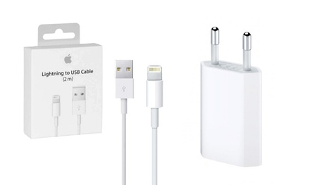 Cable Apple Lightning de 1 o 2 metros o adaptador original