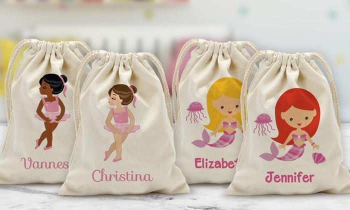 Save 75% on Custom Drawstring Bag for Kids