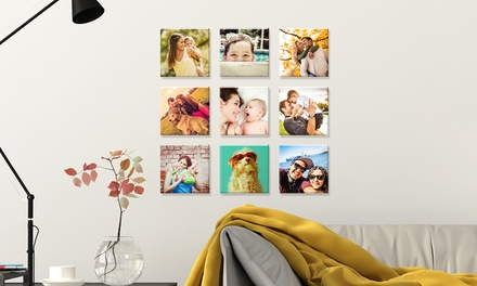 .95 for Personalised Mini Canvas Prints