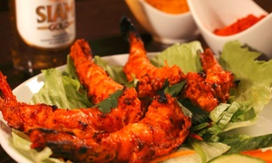 Nimboo Bar and Restaurant: Two-Course Meal with Rice or Naan for Two or Four at Nimboo Bar and Restaurant (Up to 38% Off)