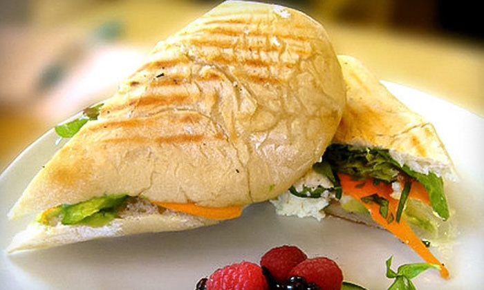 River Cafe - Central Santa Cruz: Organic Breakfast or Lunch Fare at River Cafe (Up to 52% Off). Two Options Available.