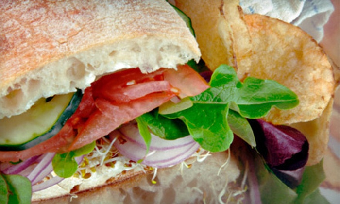Coriander Cafe & Country Store - Webster: Sandwich Lunch for Two or $15 for $30 Worth of Café Fare at Coriander Cafe & Country Store in Eastford
