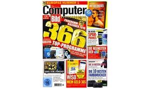 Aboking: Halbjähriges Abo für das Computerbild-Magazin inkl. DVDs in 13 Ausgaben bei Aboking (77% sparen*)
