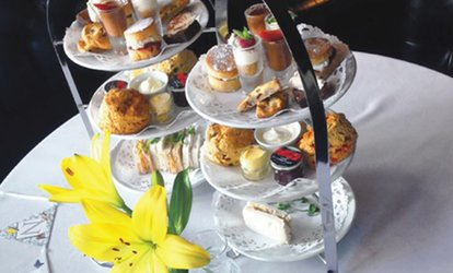 Afternoon Tea with Optional Prosecco for Two or Four at The Royal Hotel Whitley Bay (Up to 42% Off)