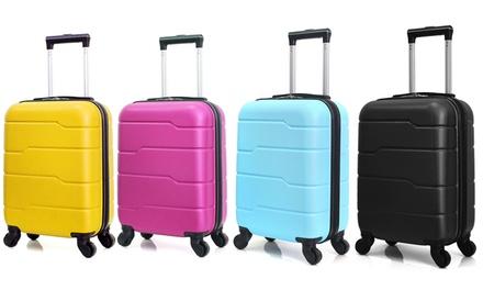 1 à 3 valises cabine Hero en ABS, capacité 37L, collection Santiago-E